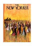 The New Yorker Cover - December 10, 1960 Regular Giclee Print von Robert Kraus