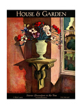House & Garden Cover - April 1926 Regular Giclee Print by Bradley Walker Tomlin