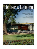 House & Garden Cover - August 1951 Regular Giclee Print by Ernest Braun