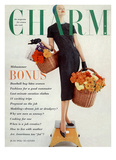 Charm Cover - July 1956 Reproduction proc&#233;d&#233; gicl&#233;e par Carmen Schiavone