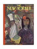 The New Yorker Cover - August 25, 1962 Regular Giclee Print by Ludwig Bemelmans