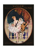Vogue Cover - November 1913 Regular Giclee Print by Frank X. Leyendecker