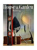 House &amp; Garden Cover - February 1945 Giclee Print by Rolf Tietgens