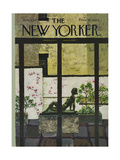 The New Yorker Cover - June 5, 1971 Giclee Print by Laura Jean Allen