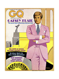 GQ Cover - March 1974 Regular Giclee Print by Richard Amsel