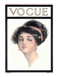 Vogue Cover - October 1910 Giclee Print by Helen Dryden