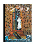 The New Yorker Cover - January 25, 2010 Regular Giclee Print by Frantz Zephirin