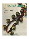 House & Garden Cover - November 1949 Giclee Print by Herbert Matter