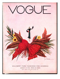 Vogue Cover - August 1932 Regular Giclee Print by Georges Lepape