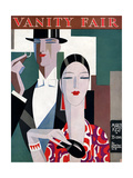 Vanity Fair Cover - March 1927 Regular Giclee Print by Eduardo Garcia Benito