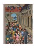 The New Yorker Cover - June 7, 1941 Regular Giclee Print by Ilonka Karasz