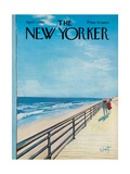 The New Yorker Cover - April 1, 1967 Regular Giclee Print av Arthur Getz