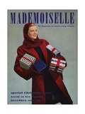 Mademoiselle Cover - December 1942 Regular Giclee Print by Paul D'Ome