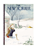 The New Yorker Cover - January 14, 1950 Giclee Print by Perry Barlow
