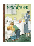 The New Yorker Cover - November 24, 1951 Regular Giclee Print by Perry Barlow