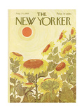 The New Yorker Cover - August 24, 1968 Giclee Print by Ilonka Karasz