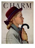 Charm Cover - October 1946 Regular Giclee Print by Hal Reiff
