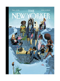 The New Yorker Cover - April 11, 2005 Regular Giclee Print by Mark Ulriksen