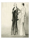 Vogue - September 1930 Regular Giclee Print by René Bouét-Willaumez