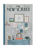 The New Yorker Cover - January 24, 1977 Giclee Print by Pierre LeTan