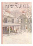 The New Yorker Cover - December 27, 1952 Giclee Print by Edna Eicke