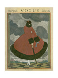 Vogue Cover - October 1917 Regular Giclee Print by Georges Lepape