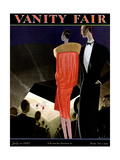 Vanity Fair Cover - July 1927 Giclee Print by William Bolin