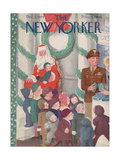 The New Yorker Cover - December 2, 1944 Regular Giclee Print by William Cotton