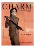 Charm Cover - September 1947 Giclee Print by Hal Reiff
