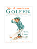 The American Golfer May 17, 1924 Regular Giclee Print by James Montgomery Flagg