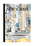 The New Yorker Cover - September 22, 2008 Regular Giclee Print par Barry Blitt