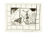 House & Garden - January, 1939 Regular Giclee Print by Ludwig Bemelmans