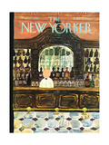 The New Yorker Cover - September 25, 1965 Giclee Print by Laura Jean Allen