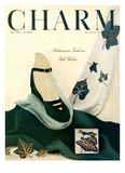 Charm Cover - July 1948 Reproduction proc&#233;d&#233; gicl&#233;e par Michael Elliot