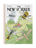 The New Yorker Cover - July 31, 2006 Giclee Print by Gahan Wilson