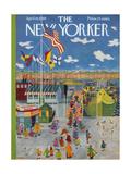 The New Yorker Cover - April 18, 1959 Regular Giclee Print by Ilonka Karasz