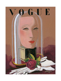 Vogue - November 1934 Regular Giclee Print by Alix Zeilinger