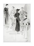 Vogue - May 1933 Regular Giclee Print by René Bouét-Willaumez
