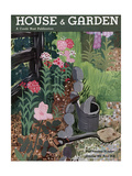 House & Garden Cover - October 1931 Regular Giclee Print by Witold Gordon