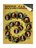 House & Garden Cover - July 1939 Regular Giclee Print by Witold Gordon
