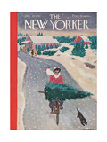 The New Yorker Cover - December 19, 1942 Regular Giclee Print par Garrett Price