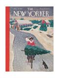 The New Yorker Cover - December 19, 1942 Giclee Print by Garrett Price