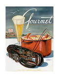 Gourmet Cover - July 1945 Giclee Print by Henry Stahlhut