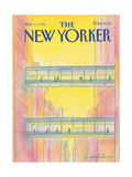 The New Yorker Cover - March 4, 1985 Regular Giclee Print by Eugène Mihaesco