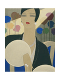 Vogue - March 1928 Giclee Print by Harriet Meserole