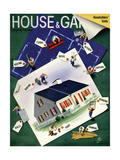 House & Garden Cover - March 1940 Regular Giclee Print by  Garretto