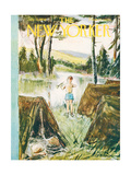 The New Yorker Cover - July 11, 1959 Regular Giclee Print by Perry Barlow