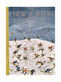 The New Yorker Cover - February 5, 1955 Giclee Print by Ludwig Bemelmans