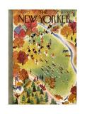 The New Yorker Cover - October 22, 1938 Regular Giclee Print by Roger Duvoisin