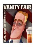 Vanity Fair Cover - September 1932 Giclee Print by Miguel Covarrubias